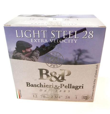 B&P Valle Light Steel 28g  12/70  5