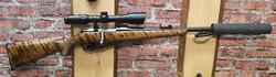 Sotilaskivääri  7.62x53 Vaimentimella ja Nikko Sterling kiikarilla 1.5-6x 44