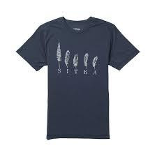 Sitka Five feathers T shirt koko L