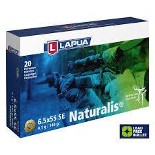 Lapua 6.5 x 55  SE. 9,1g  Naturalis