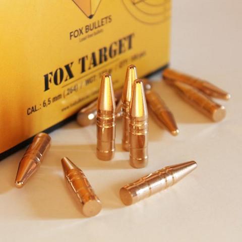 Fox Bullet TARGET  .30 cal  150gr. 100kpl ! UUTUUS