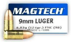 Magtech 9x19 FMJ (9B)