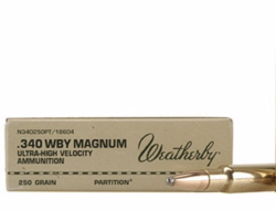 Weatherby .340 W.M. Magnum / 200grs