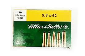 Seller&Bellot 9,3x62 18,5g 285gr