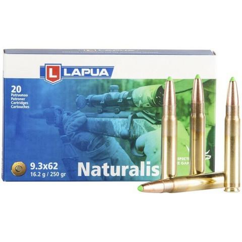 Lapua 9,3x62 Naturalis / 16,2g / 250grs N560