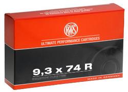 RWS 9,3x74R Evolution Power Bonded / 18,8g / 291grs