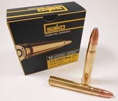 Sako 375 H&H Mag Barnes Solid Ramhead / 17,5g / 270grs