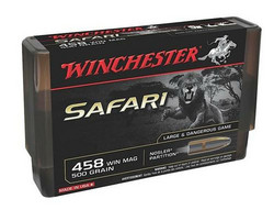 Winchester Supreme 458 Win Mag / 500 GR. Nosler Partition