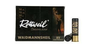 Rottweill Waidmansheil 12/70  36g 2,7mm 10 kpl