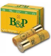 B&P Super Magnum 20/70  35 g   # 5  10 kpl