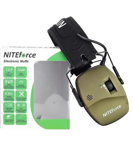 NITEforce PRO aktiivinen kuuleva kuulosuojain
