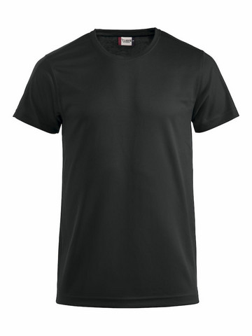 Tekninen T-paita väri musta
