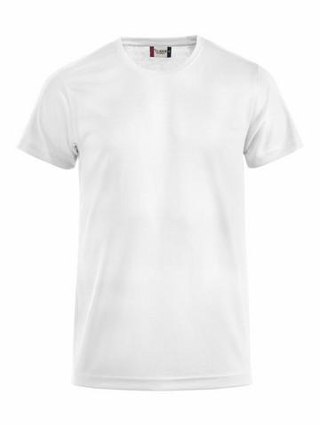 Tekninen T-paita väri valkoinen