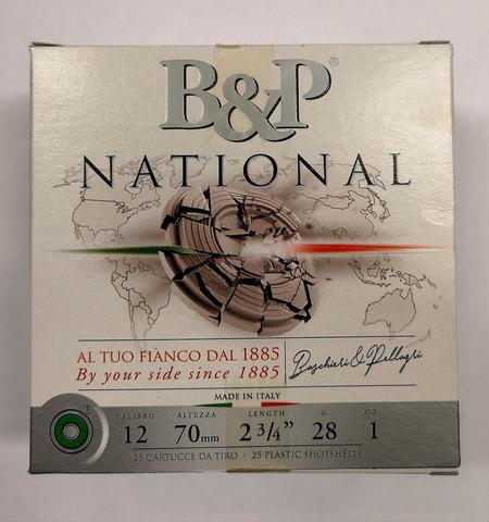 B&P National 24g  # 7,5   UUTUUS!!