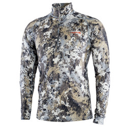 Sitka Merino Core Ltwt half zip Elevated II
