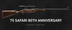 Sako 75  Safari 80th Anniversary. 375 H&H Mag.
