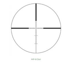 IOR 6-24x50 IL  SFP  / MP8 ristikolla