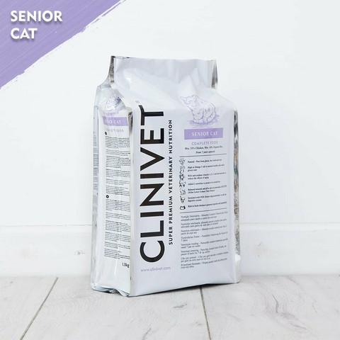 CLINIVET Senior Cat 9 kg - Senioriruoka ikääntyville kissoille