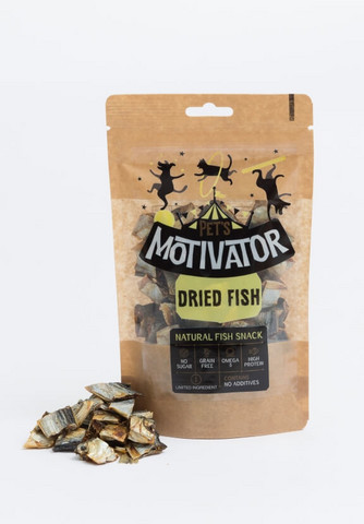 Pet's Motivator Dried Fish 90 g