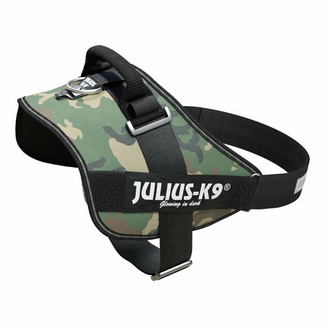 Julius-K9® IDC® Power koiran valjaat, Maastokuvio alkaen 21.90€
