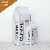 CLINIVET Adult Light 14 kg - Vähärasvainen vehnätön kevytruoka ylipainoisille koirille