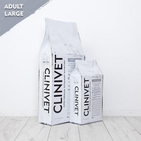 CLINIVET Adult Large 14kg - Vehnätön kuivaruoka isoille koirille