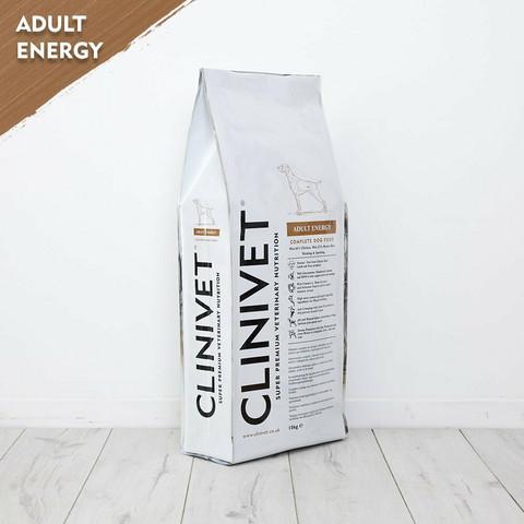 CLINIVET Adult Energy 14 kg - Vehnätön energiaruoka aktiivisille koirille