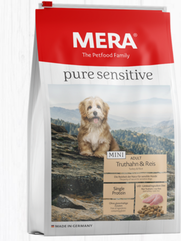 MERA Pure Sensitive MINI Kalkkuna & Riisi