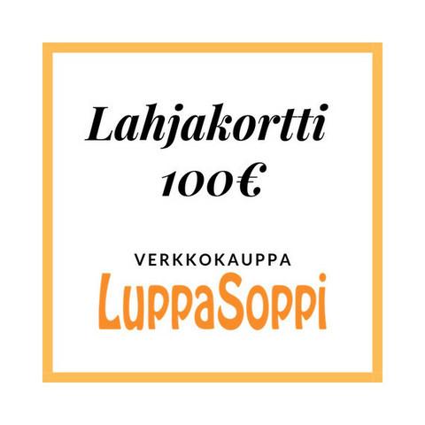 Lahjakortti LuppaSoppiin 100€