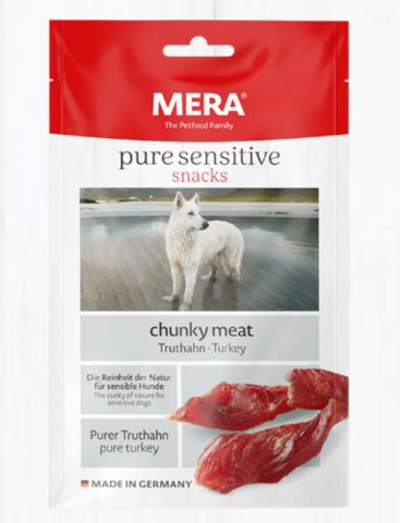 MERA Pure Sensitive– lihaisat file-palat koiralle, kalkkuna