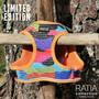 RATIA CAMO double liivivaljas Rainbow/oranssi