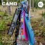 CAMO DOUBLE säädettävät taluttimet Classic, Rainbow ja Forest Lake