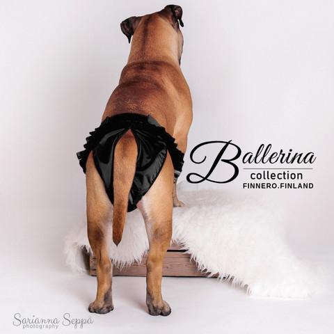 Finnero Ballerina juoksuhousut musta