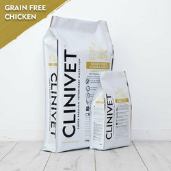 CLINIVET Grain Free Junior & Adult Chicken 2 kg - Viljaton kana-kasvis koiranruoka