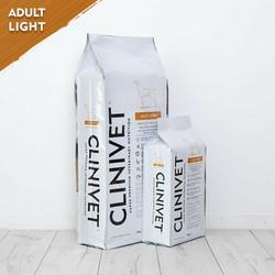 CLINIVET Adult Light 4 kg - Vähärasvainen vehnätön kevytruoka ylipainoisille koirille