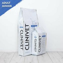 CLINIVET Adult Junior 14 kg - Vehnätön koiranruoka aikuisille ja nuorille koirille
