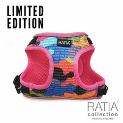 RATIA CAMO double liivivaljas Rainbow/pink