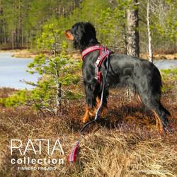 RATIA 8 shape valjas punainen