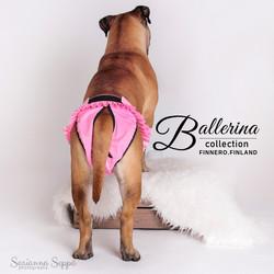 Finnero Ballerina juoksuhousut pinkki