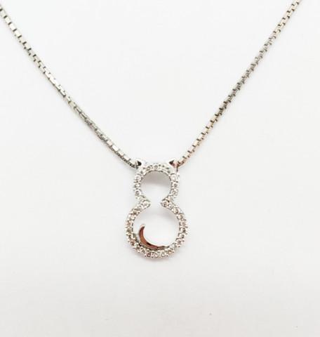 Valkokultainen timanttikissariipus
