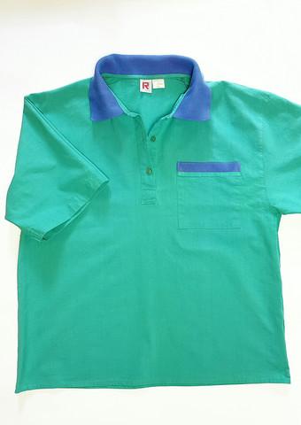 80-90-luvun miesten puuvillakankainen paita, M