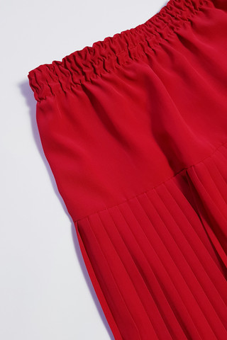 80-90-luvun punainen vekkihame, 38-44