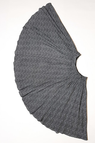 90-luvun vekitetty kellohelmainen kukkahame, XS-M