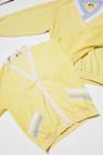 80-90-luvun vaaleankeltainen napitettava Finnwear-pusero, miesten M