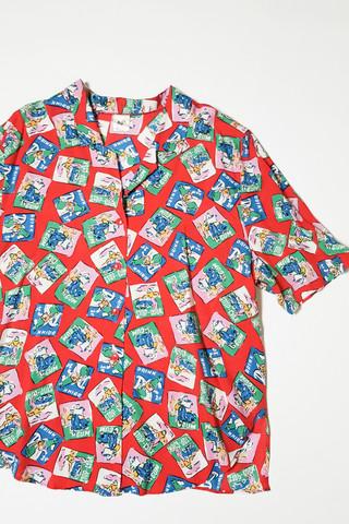 80-90-luvun rockabilly pusero, M-L