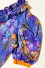 80-luvun röyhelöinen pusero ja vajaamittaiset housut, 48 XXL