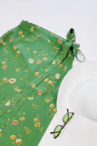 90-luvun vihreä kietaisuhame, S-M