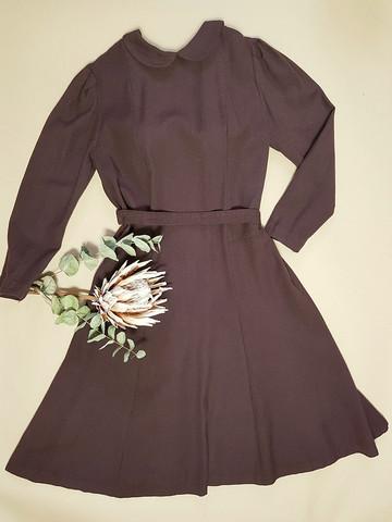 Vintage mekko ohutta villaa, 38-40