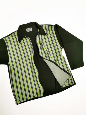 90-luvun miesten vetoketjullinen paita, L-XL