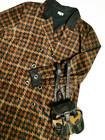 Vintage houndstooth samettimekko, L-XL